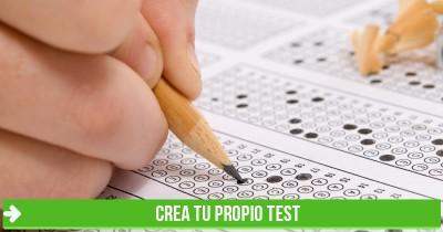 Crea tu propio test